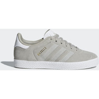 Chaussures Fille Baskets basses adidas Originals Chaussure Gazelle Gris / Gris / Blanc