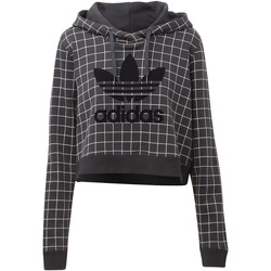 Vêtements Femme Sweats adidas Originals Sweat-shirt à capuche CLRDO Noir
