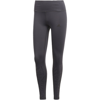 Vêtements Femme Leggings adidas Performance Tight Ultimate High-Rise Embossed Gris