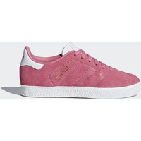 Chaussures Fille Baskets basses adidas Originals Chaussure Gazelle Blanc