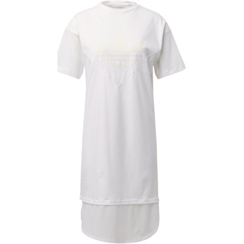 Vêtements Femme Robes longues adidas Originals Robe CLRDO Tee Blanc