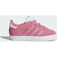 Chaussures Fille Baskets mode adidas Originals Chaussure Gazelle Blanc