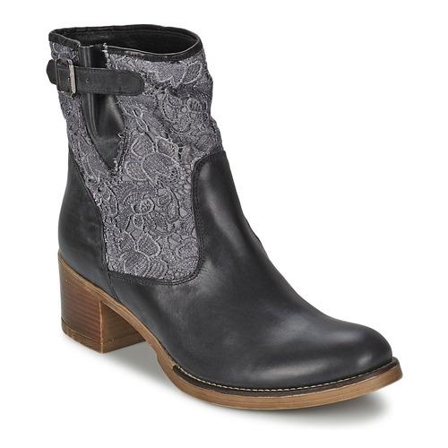 Bottines / Boots Meline ALESSANDRA Noir 350x350