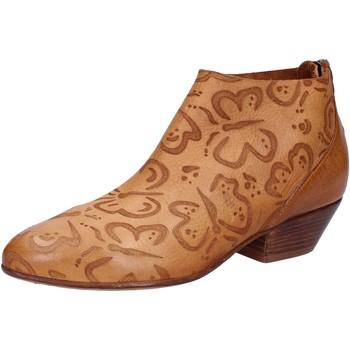 Chaussures Femme Bottines Moma bottines marron cuir AB350 marron
