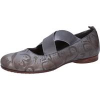 Chaussures Femme Ballerines / babies Moma ballerines gris cuir AB367 gris