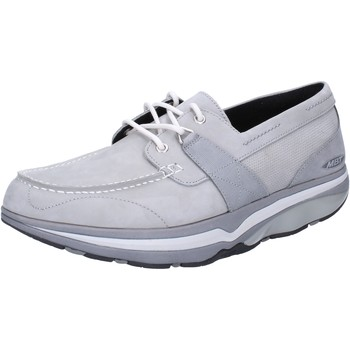 Chaussures Homme Baskets basses Mbt chaussures homme  sneakers gris nabuk AB389 gris