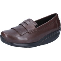 Chaussures Femme Mocassins Mbt chaussures femme  mocassins marron cuir performance AB392 marron