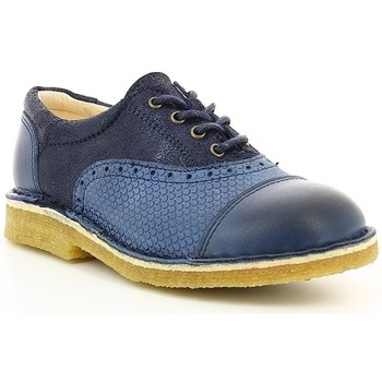 Chaussures Fille Derbies Kickers KICK LOW Marine