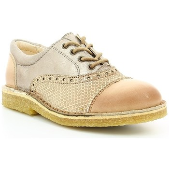 Chaussures Fille Derbies Kickers KICK LOW Camel