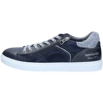 Chaussures Homme Baskets basses Nero Giardini P800270U Basket Homme Blue Blue
