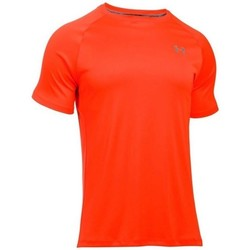 Vêtements Homme T-shirts manches courtes Under Armour Heatgear Run SS Tee Orange