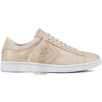 Chaussures Femme Baskets mode Converse pro leather Beige