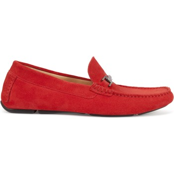 Chaussures Homme Mocassins Heyraud DRIVER gad Rouge