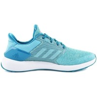 Chaussures Enfant Baskets basses adidas Originals Rapida Run K Blanc-Bleu