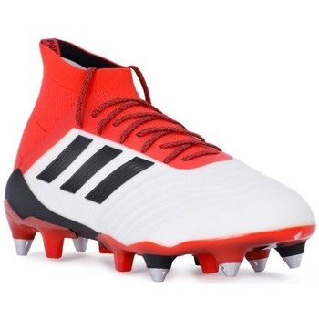adidas Originals Predator 181 SG Blanc-Rouge - Chaussures Football Homme