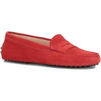 Chaussures Femme Mocassins Tod's Femme tod's gommino rouge rouge