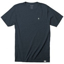 Vêtements Homme T-shirts manches courtes Nixon T-shirt  Sparrow - Navy Heather Bleu