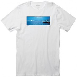 Vêtements Homme T-shirts manches courtes Nixon T-shirt  Anchored - White blanc
