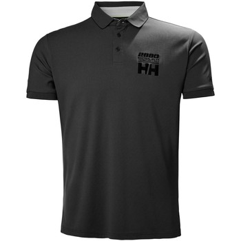 Vêtements Polos manches courtes Helly Hansen HP RACING POLO EBONY Noir