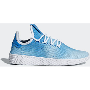 Chaussures Garçon Baskets mode adidas Originals Chaussure Pharrell Williams Tennis Hu Bleu / Blanc / Blanc