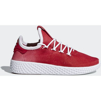 Chaussures Enfant Baskets mode adidas Originals Chaussure Pharrell Williams Tennis Hu Rouge / Blanc / Blanc