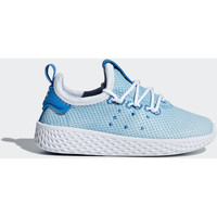 Chaussures Garçon Baskets basses adidas Originals Chaussure Pharrell Williams Tennis Hu Bleu / Blanc / Blanc