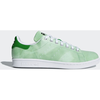Chaussures Homme Baskets basses adidas Originals Chaussure Pharrell Williams Hu Holi Stan Smith Blanc / Blanc / Vert