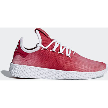 Chaussures Enfant Baskets basses adidas Originals Chaussure Pharrell Williams Tennis Hu Rouge / Blanc / Blanc