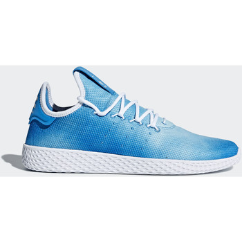 Chaussures Femme Baskets basses adidas Originals Chaussure Pharrell Williams Tennis Hu Bleu / Blanc / Blanc