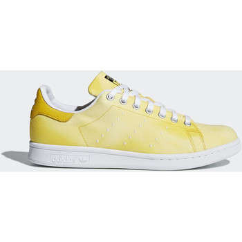 Chaussures Homme Baskets basses adidas Originals Chaussure Pharrell Williams Hu Holi Stan Smith Blanc / Blanc / Jaune