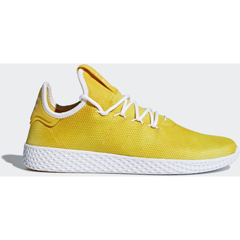 Chaussures Femme Baskets basses adidas Originals Chaussure Pharrell Williams Tennis Hu Jaune / Blanc / Blanc