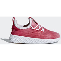 Chaussures Enfant Baskets mode adidas Originals Chaussure Pharrell Williams Tennis Hu Rouge / Beige / Blanc