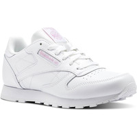 Chaussures Fille Baskets basses Reebok Classic Classic Leather Metallic Blanc
