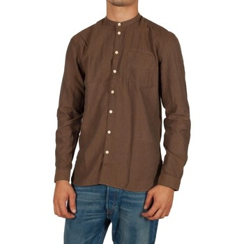 Vêtements Homme Chemises manches longues Minimum GETTY CASHEW Marron