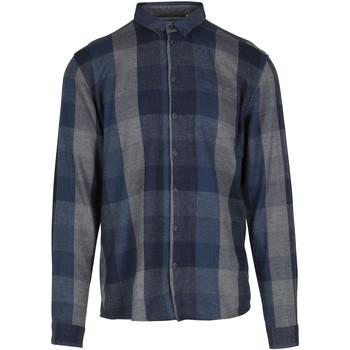 Vêtements Homme Chemises manches longues Minimum PELHAM Bleu