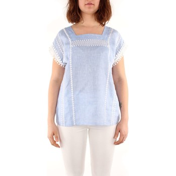 Vêtements Femme Tops / Blouses Weekend Maxmara FLIRT T-shirt Femme light blue light blue