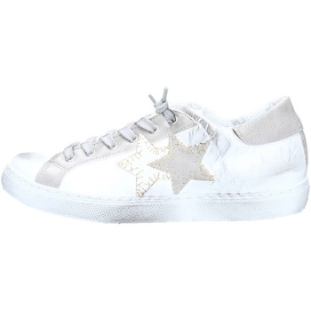 Chaussures Femme Baskets basses 2 Stars 2S1800 Basket Femme White / Grey White / Grey