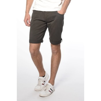 Vêtements Homme Shorts / Bermudas Deeluxe Short chino City kaki