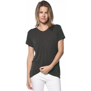 Vêtements Femme T-shirts manches courtes Deeluxe T-shirt Night grisfonce