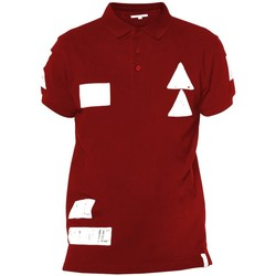 Vêtements Homme Polos manches courtes Deeluxe Polo Voile tomate