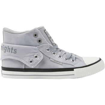 Chaussures Homme Baskets montantes British Knights ROCO HOMMES BASKETS MONTANTE grisclair