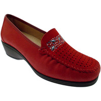 Chaussures Femme Mocassins Loren LOK3988ro rosso
