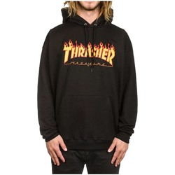 Vêtements Homme Sweats Thrasher SUDADERA  FLAME LOGO Noir
