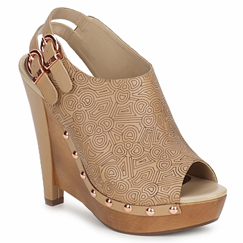 Chaussures Femme Escarpins Zandra Rhodes BROWNWYN Sable