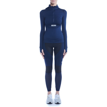 Vêtements Femme Vestes Adidas By Stella Mccartney Veste technique  Run bleue avec capuche Bleu