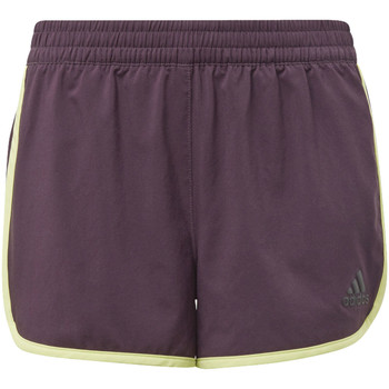 Vêtements Fille Shorts / Bermudas adidas Performance Short Training Marathon Jaune