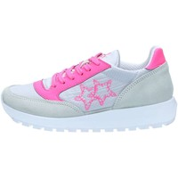Chaussures Femme Baskets basses 2 Stars 2S1961 Basket Femme Grey / Ice / Fuxia Grey / Ice / Fuxia