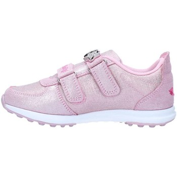 Chaussures Fille Baskets basses Lelli Kelly 7868 Basket Fille Glitter Pink Glitter Pink