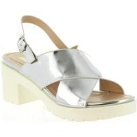 Chaussures Femme Sandales et Nu-pieds MTNG 55413 DELIA Plateado