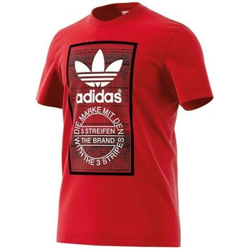 Vêtements Homme T-shirts manches courtes adidas Originals Originals Traction Tongue Homme T-Shirt Rouge rouge